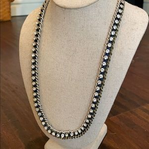 Stella and Dot rhinestone necklace